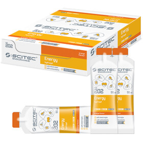 SCITEC Energy Gel Caja 12x55ml, Orange